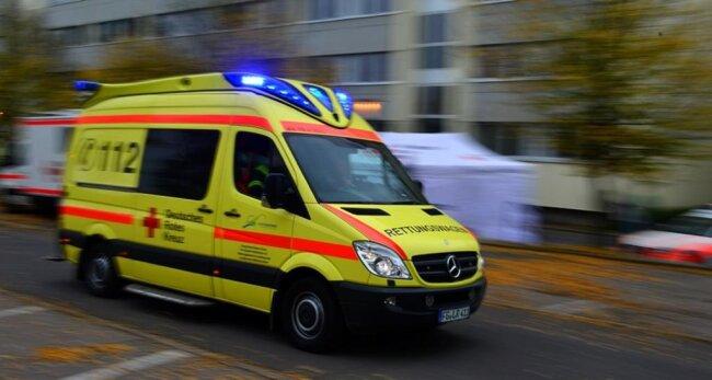 <p>Die Verletzten wurden auf fünf Krankenhäuser verteilt.</p>