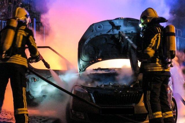 <p>Nach ersten Angaben wurde die Feuerwehr gegen 4 Uhr gerufen.</p>
