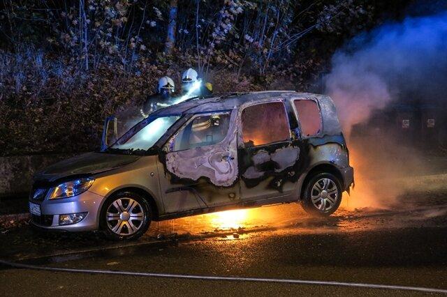<p>Die Brandursache ist derzeit noch unklar. Die Polizei hat die Ermittlungen aufgenommen.</p>