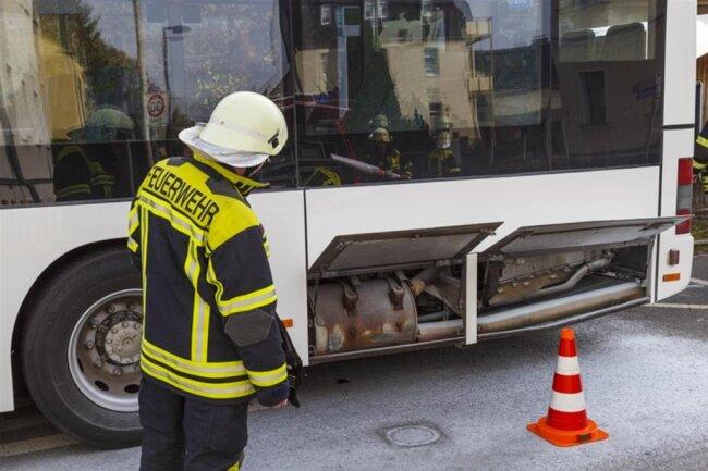 <p>Die Freiwilligen Feuerwehren aus Neuwürschnitz, Niederwürschnitz, Oelsnitz sowie der diensthabende Kreisbrandmeister wurden alarmiert.</p>