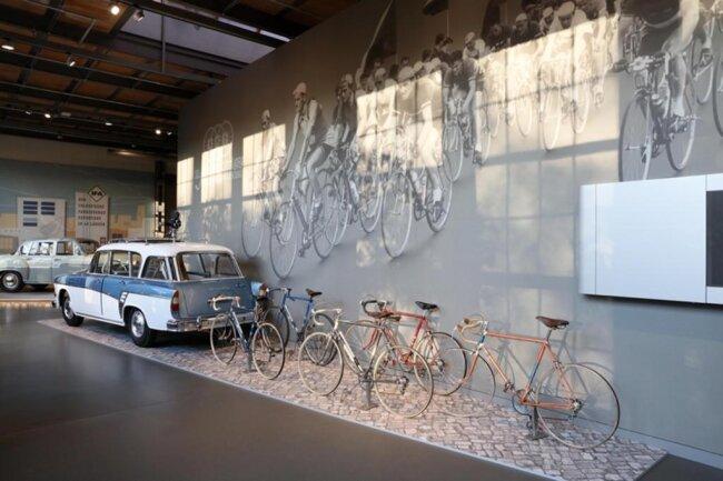 """<p xmlns:php=""""http://php.net/xsl"""">Vor der «Pappe» fertigte im heutigen Museum zudem der Autobauer Audi, der 1909 in Zwickau von August Horch gegründet wurde.</p>"""