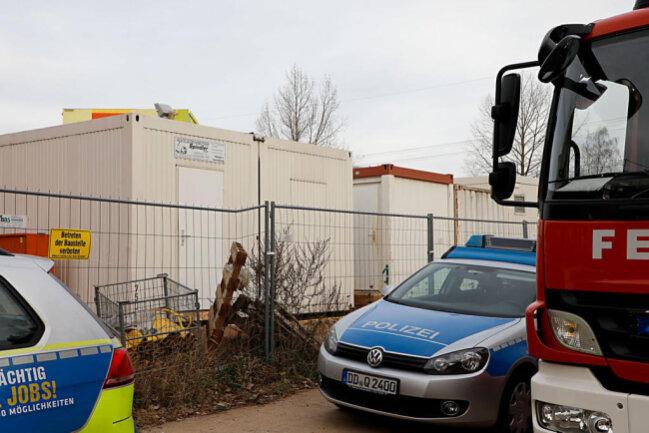 <p>Die Kinder wurden in einem Baucontainer einer nahegelegenen Baustelle untergebracht.</p>