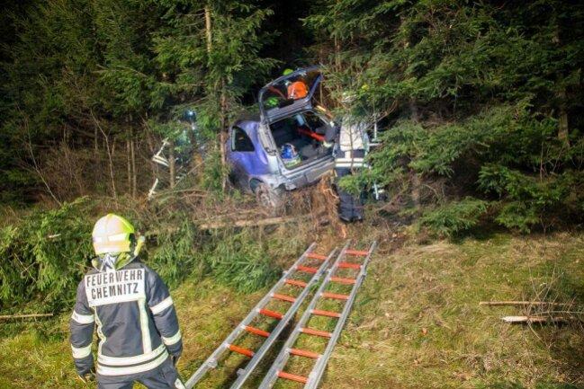 <p>Die Fahrerin eines Opel war in Richtung Zschopau unterwegs.</p>