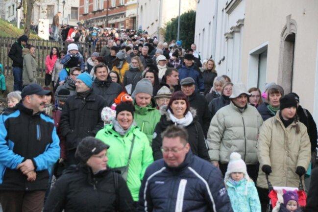 <p>Die Veranstaltung lockt jährlich tausende Besucher an die Straßenräder der Bergstadt.</p>