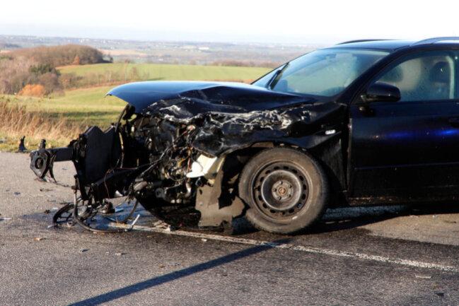 <p>Der 43-jährige Audi-Fahrer wurde bei dem Unfall schwer verletzt.</p>