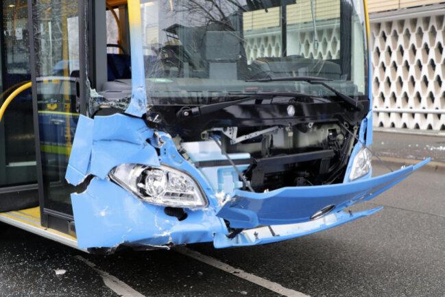 <p>Im Bus wurde niemand verletzt.</p>