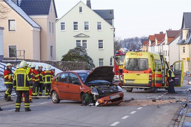 <p>Die Unfallstelle blieb zeitweise gesperrt.</p>