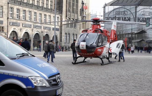 <p>Der Hubschrauber des Typs Christoph 46 ist am Heinrich-Braun-Klinikum in Zwickau stationiert.</p>