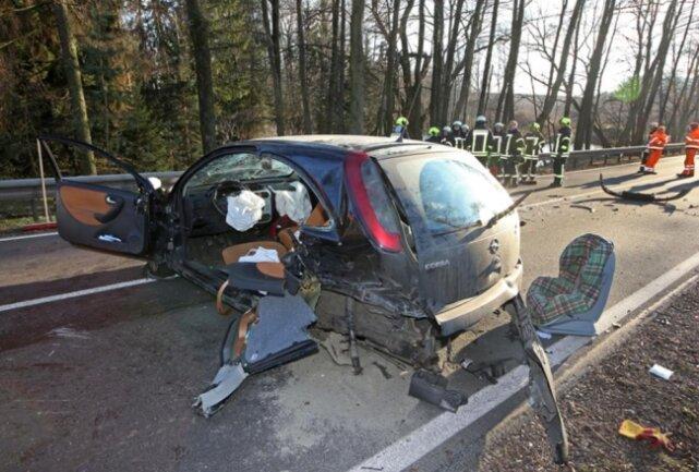 <p>Ein 31-jähriger Pkw-Fahrer fuhr auf das Auto einer 43-Jährigen.</p>