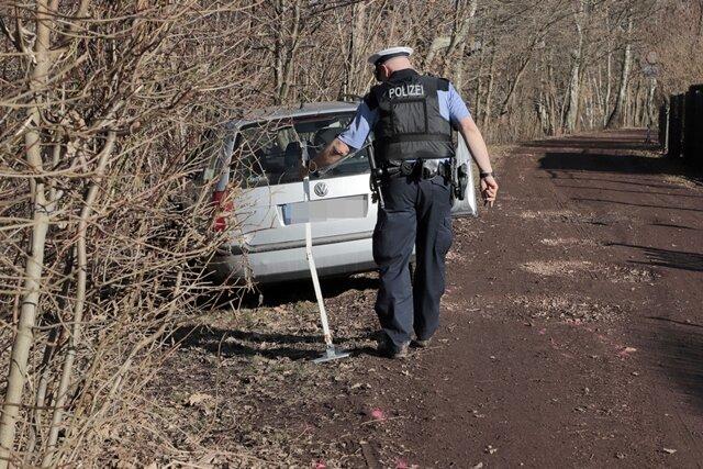 <p>Die Kriminalpolizei ermittelt.</p>