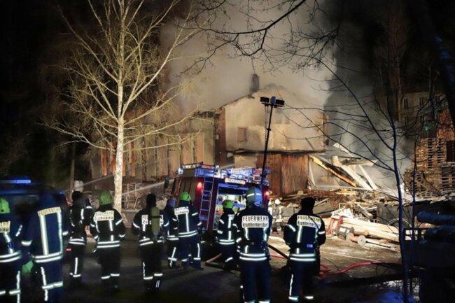 <p>Mehr als 70 Feuerwehrkräfte waren im Einsatz, um den Brand zu löschen.</p>
