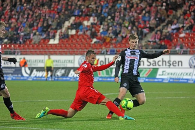 <p>Fabian Eisele gegen Thomas Greyer.</p>