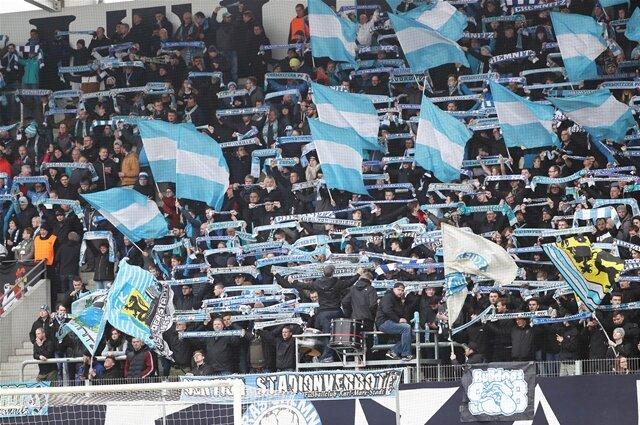 <p>Fans des&nbsp;Chemnitzer FC</p>