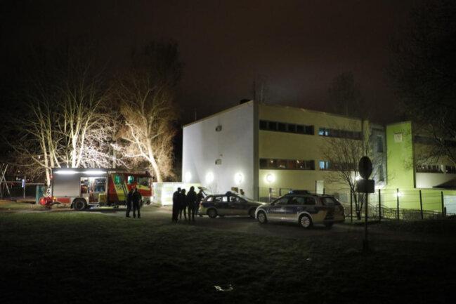 <p>Verletzt wurde ersten Informationen der Polizei zufolge niemand.</p>