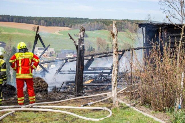 <p>Nach ersten Informationen wurde bei dem Brand niemand verletzt.</p>