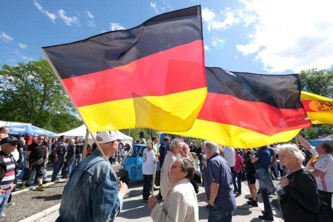<p>Pegida hatte im Vorfeld der AfD-Kundgebung für die Zwickauer Veranstaltung mobilisiert.</p>