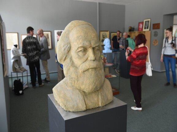 <p>Noch bis zum nächsten Samstag ist die Ausstellung in der Chemnitzer Galerie zu sehen.</p>