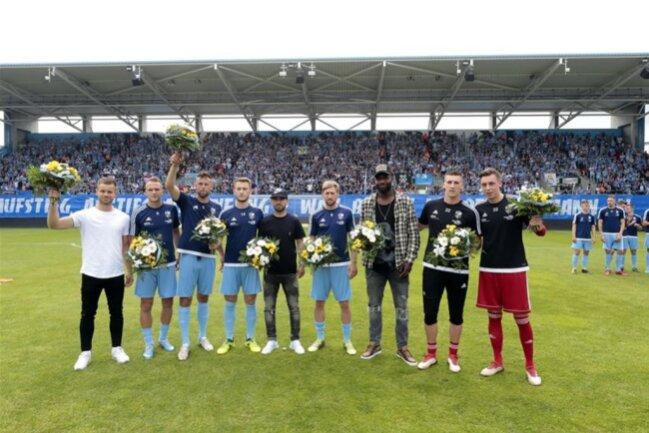 <p>Der Chemnitz FC verabschiedet sich nach sieben Spieljahren aus der 3. Liga.</p>