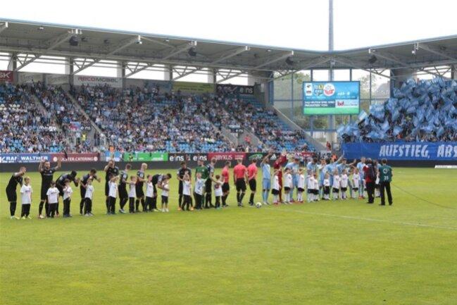 <p>Chemnitzer FCspielt am Samstag gegen den FC Hansa Rostock.</p>