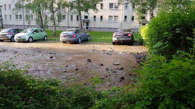 <p>Betroffen war die Kreuzung Weststraße/Kochstraße.</p>