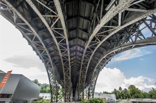 <p>Das Viadukt symbolisiert die Epoche der Industrialisierung.</p>