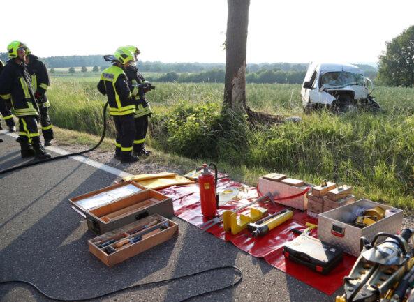 <p>Der Unfall ereignete sich nach 19 Uhr.</p>