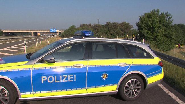 """<p xmlns:php=""""http://php.net/xsl"""">Bei ihrem Eintreffen entdeckten Polizei und Feuerwehr lediglich ein Schaf in Fahrtrichtung Erfurt. Die Kameraden der Freiwilligen Feuerwehr Meerane konnten das Tier wieder einfangen.</p>  <p xmlns:php=""""http://php.net/xsl""""></p>"""