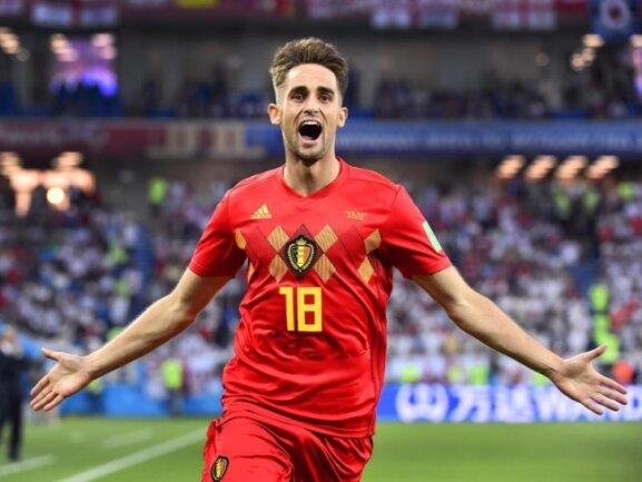 <b>Torschütze</b><br/>Belgiens Ergänzungsspieler Adnan Januzaj durfte gegen England von Beginn an auflaufen und zahlte das Vertrauen mit einem sehenswerten Treffer zurück. Foto: Dirk Waem/BELGA<br/>28.06.2018 (dpa)