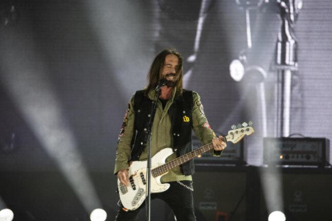 <p>Bassist Stephan Weidner gilt als Kopf und Sprecher der Böhsen Onkelz.</p>