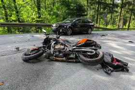 <p>Der Unfall ereignete sich zwischen Eibenstock und Wolfsgrün.</p>