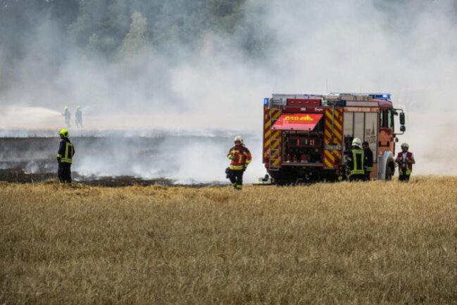 <p>Auch bei diesem Brand hat die Polizei die Ermittlungen aufgenommen.</p>