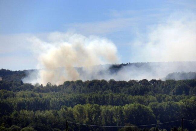 <p>Wie die Polizei Chemnitz mitteilte, kommt es gegenwärtig zu einer erheblichen Rauchentwicklung, welche durch wechselnde Winde in die umliegenden Stadtteile geweht wird.</p>