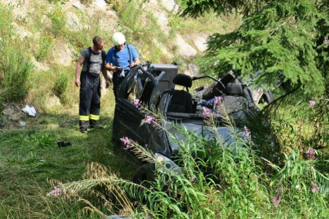 <p>Ein Unfallopfer wurde mit dem Rettungshubschrauber ins Krankenhaus gebracht.</p>