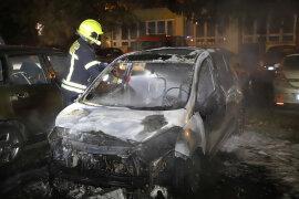 <p>Wie die Polizei bestätigte, stand das Auto auf einem Anwohnerparkplatz an der Wilhelm-Firl-Strasse, als es in Brand geriet.</p>