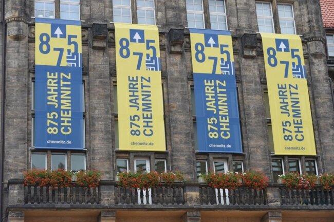 <p>Das Fest stand dieses Jahr im Zeichen des 875-jährigen Bestehens von Chemnitz.</p>