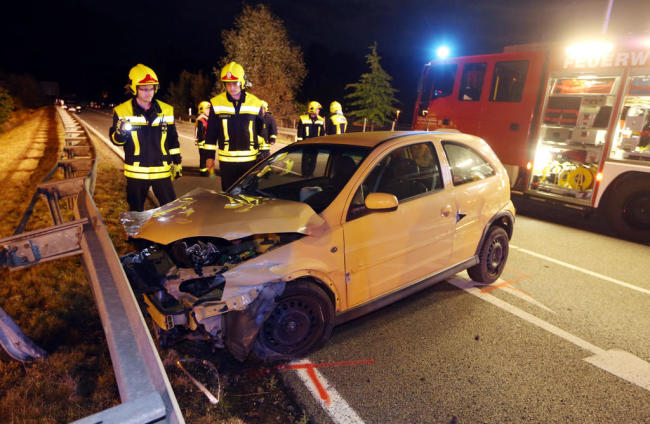 <p>Bei dem Opel-Fahrer wurde ein Atemalkoholwert von 1,76 Promille festgestellt.</p>