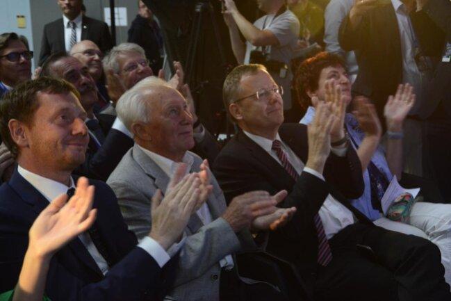 <p>Rund 170 Mitglieder des Vereins Deutsche Raumfahrtausstellung und zahlreiche Ehrengäste wurden am Sonntagzur Jubiläumsfeier in Morgenröthe-Rautenkranzerwartet.</p>