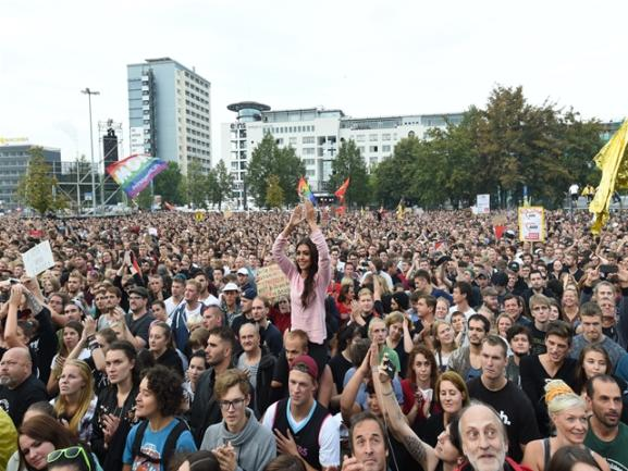 <p>Der Veranstalter sprach zunächst von 50.000 Konzertbesuchern und bezog sich dabei auf Angaben der Polizei.</p>