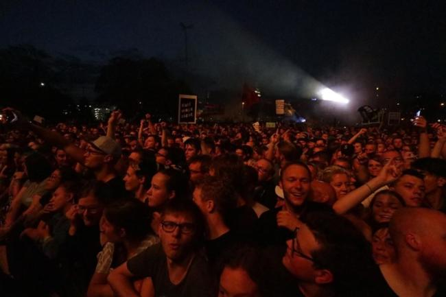 <p>Riesenapplaus zum Konzertende.</p>