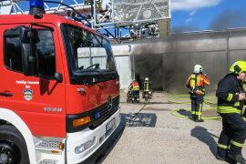 """<div class=""""firstSection""""> <p class=""""MsoPlainText"""">In Schneeberg hat am Samstagnachmittag eine elekrtische Anlage in einer Lagerhalle Feuer gefangen.</p> </div>  <p class=""""MsoPlainText""""></p>"""