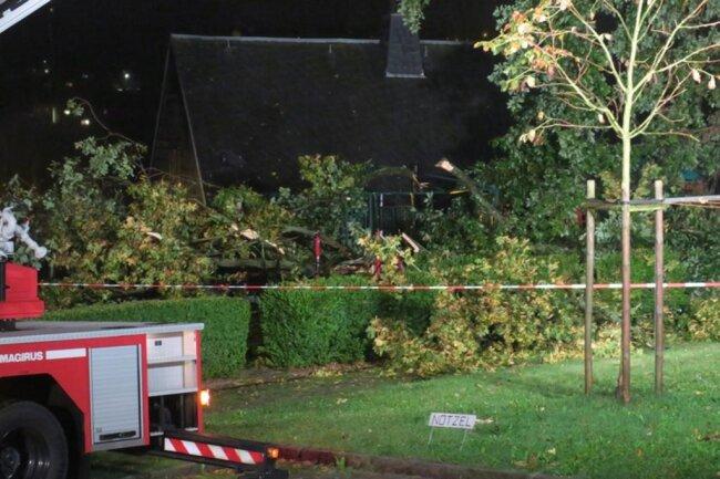 """<p><span calibri="""""""" style=""""font-size:11.0pt;font-family:"""">Ein Baum drohte auf ein Haus zu stürzen. </span></p>"""