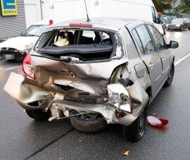 <p>Wie die Polizei mitteilte ereignete sich der Unfall zwischen zwei Autos.</p>