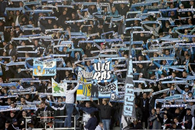 <p>Rund 4600 Zuschauer besuchten die Partie im Stadion Chemnitz.</p>