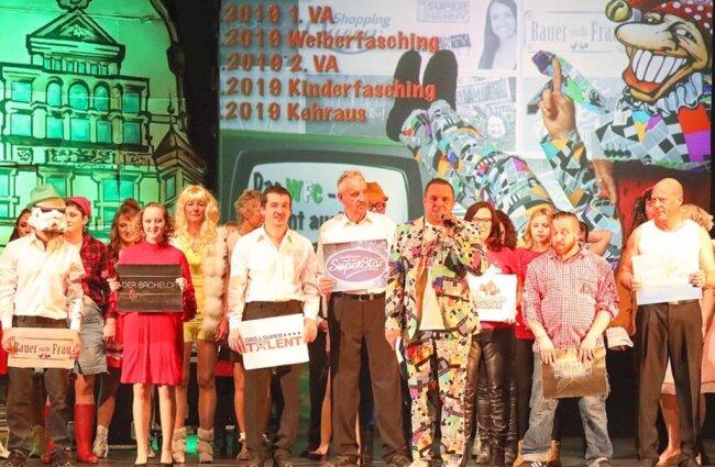 <p>Der WFC gab am Samstag in der Stadthalle Werdau schon mal einen kleinen Vorgeschmack auf das Motto der neuen Faschingssaison.</p>