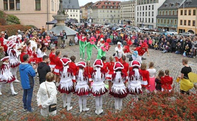 <p>Auf dem Altmarkt in Hohenstein-Ernstthal&nbsp;haben die Narren vom Ro-We-He am Sonntag die Herrschaft übernommen.</p>