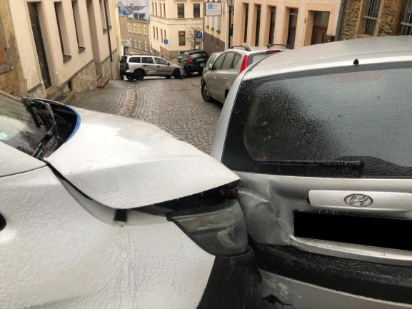 <p>Auf dem Boden gefrierender Regen hatte in der Region zu Blitzeis geführt.</p>