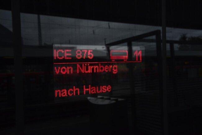 <p>Von Nürnberg nach Hause.</p>