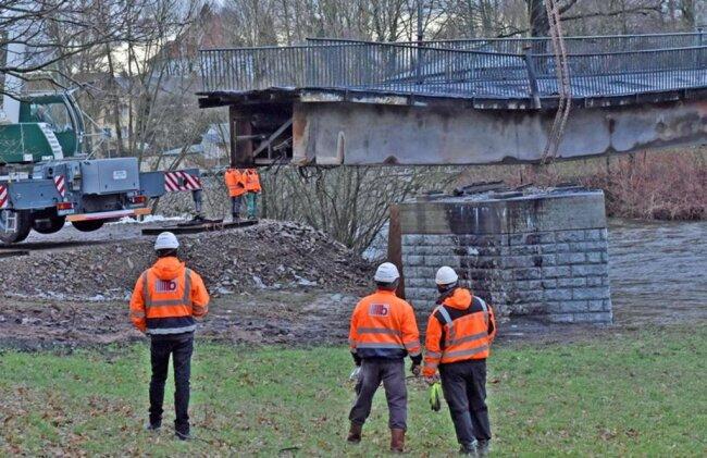 <p>Für den Abriss der Brücke rechnet die Stadt mit 175.000 Euro Kosten.</p>