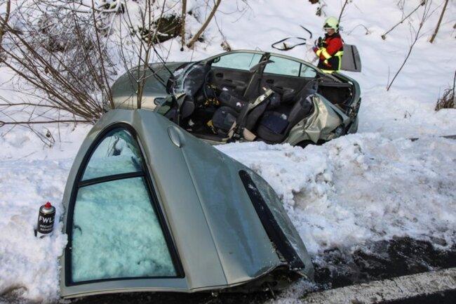 <p>Wegen der Unfallaufnahme war die B283 gesperrt.</p>