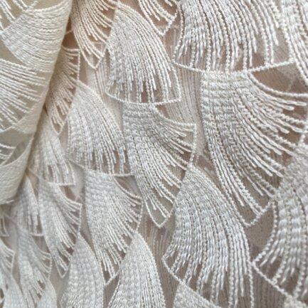 <p>Zu sehen sind neue Muster der Organic Collection der Firma Modespitze ...</p>